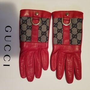 Authentuc Vintage Gucci Gloves